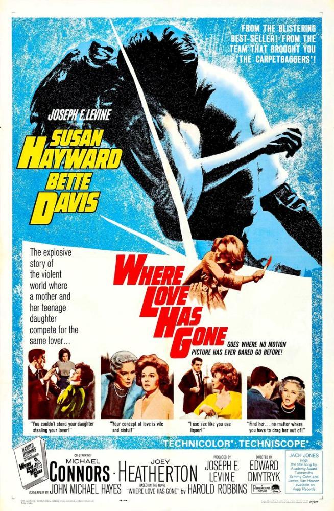 Where Love Has Gone Movie Poster, Movie Poster, Poster Satış, all posters, kanvas tablo, canvas print sales