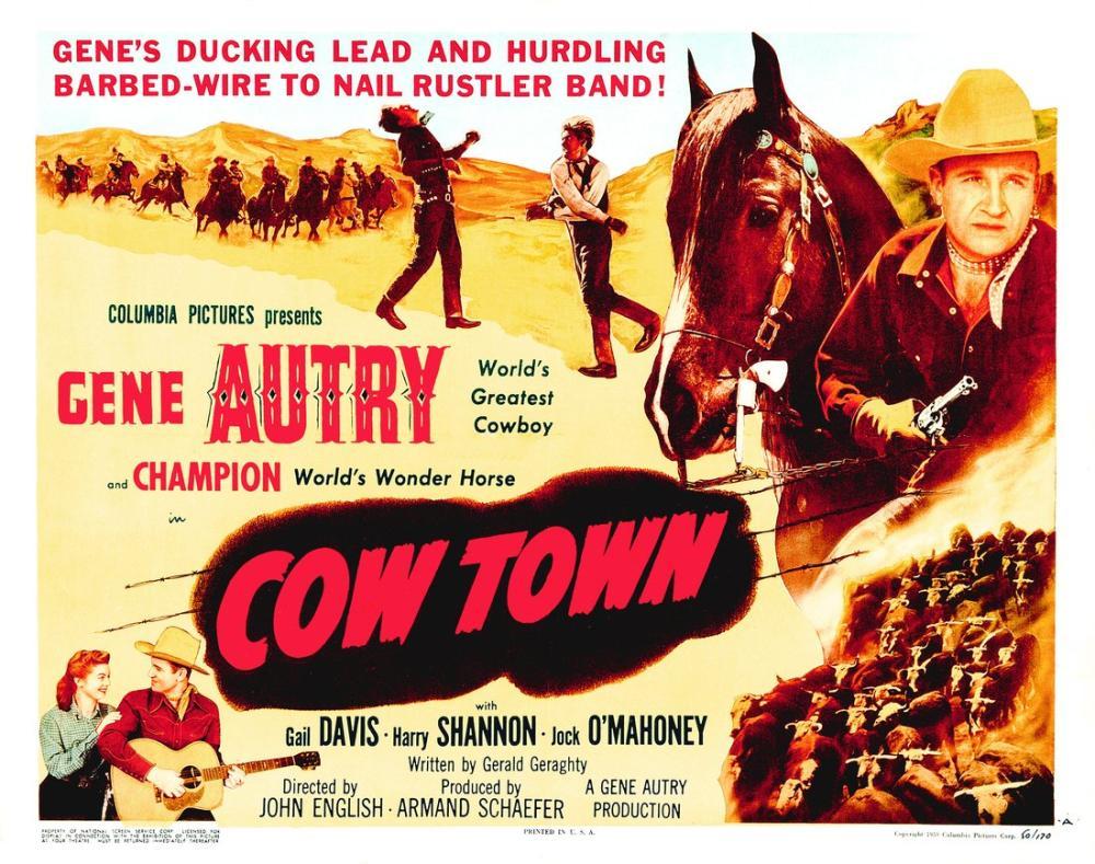Cow Town Film Posteri, Film Posteri, Poster Satış, all posters, kanvas tablo, canvas print sales