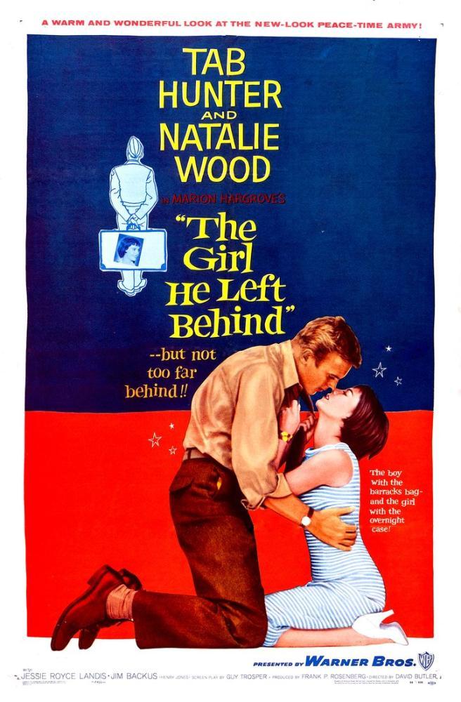 The Girl He Left Behind Film Posteri, Film Posteri, Poster Satış, all posters, kanvas tablo, canvas print sales