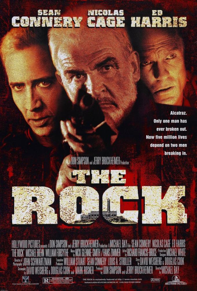 The Rock Movie Poster, Movie Poster, Poster Satış, all posters, kanvas tablo, canvas print sales