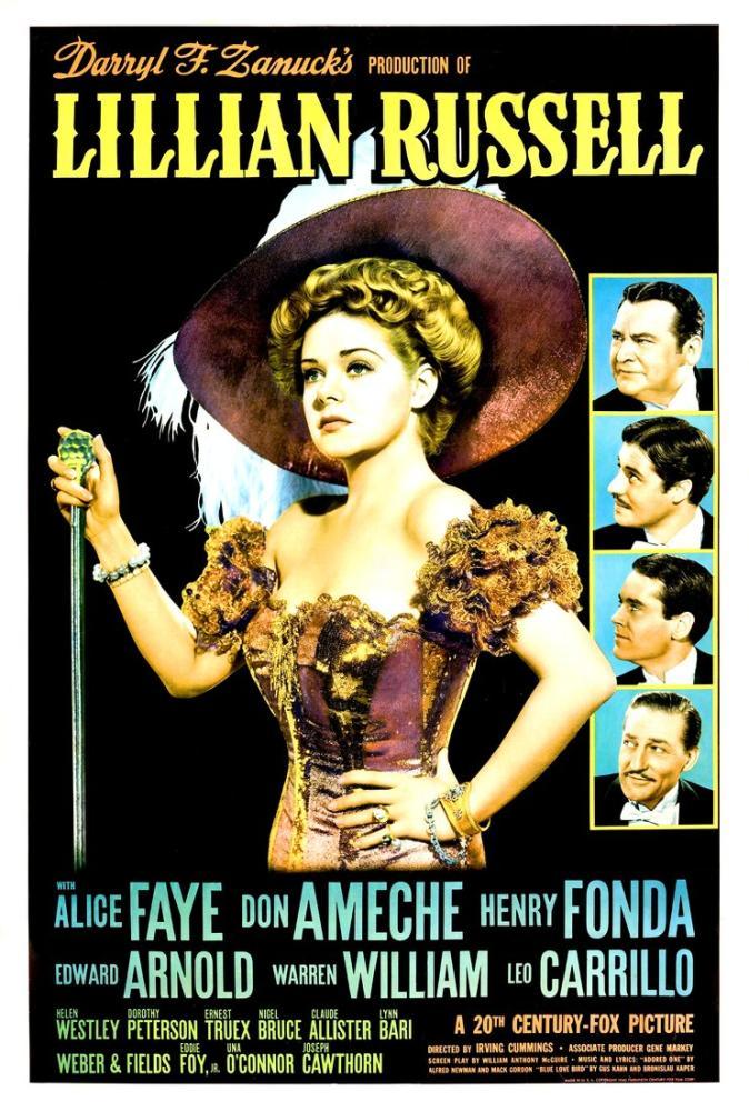 Lillian Russell Film Posteri, Film Posteri, Poster Satış, all posters, kanvas tablo, canvas print sales