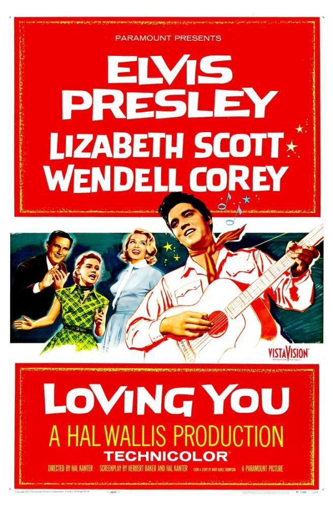 Loving You Elvis Presley Movie Poster, Movie Poster, Poster Satış, all posters, kanvas tablo, canvas print sales