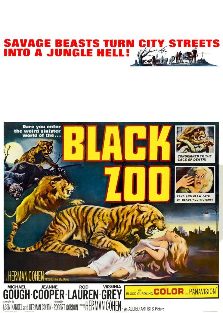 Black Zoo Movie Poster, Movie Poster, Poster Satış, all posters, kanvas tablo, canvas print sales