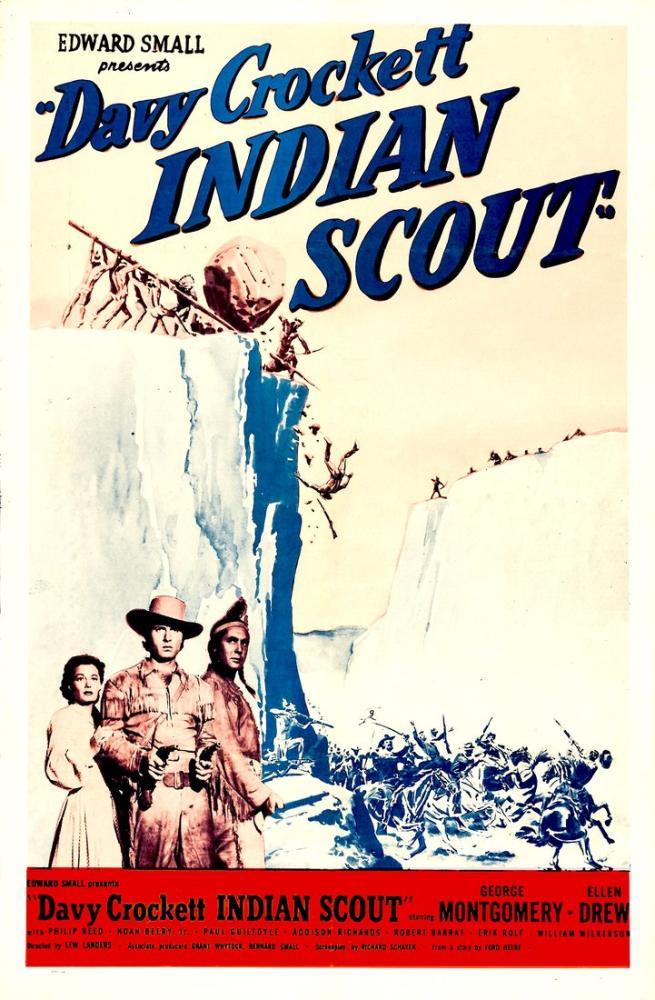 Davy Crockett, Indian Scout Movie Poster, Movie Poster, Poster Satış, all posters, kanvas tablo, canvas print sales