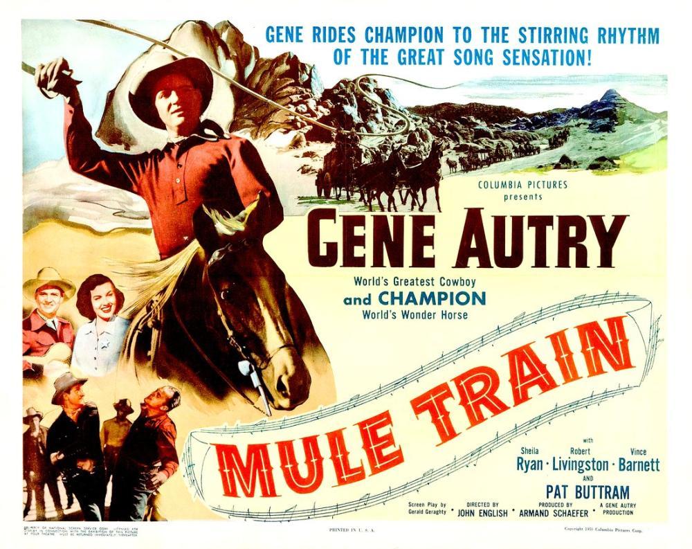 Mule Train Movie Poster, Movie Poster, Poster Satış, all posters, kanvas tablo, canvas print sales