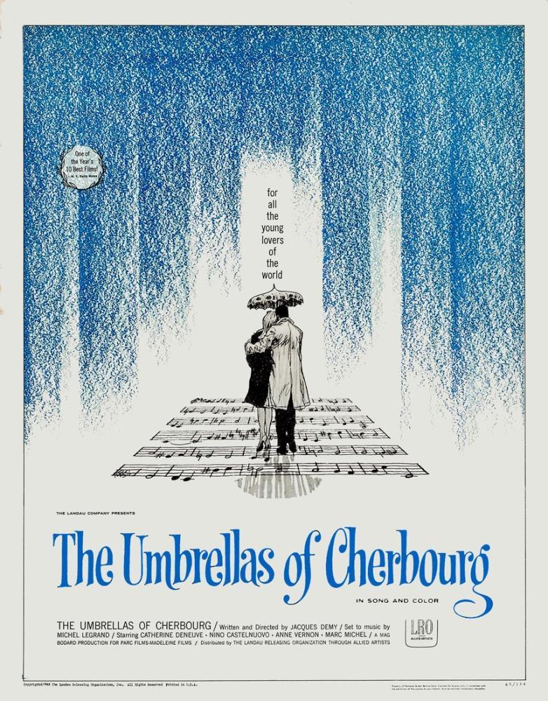 Cherbourg Şemsiyeleri Film Posteri, Film Posteri, Poster Satış, all posters, kanvas tablo, canvas print sales