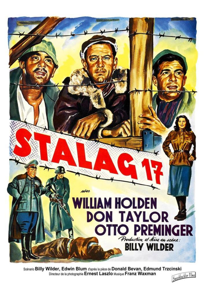 Stalag 17 Film Posteri, Film Posteri, Poster Satış, all posters, kanvas tablo, canvas print sales