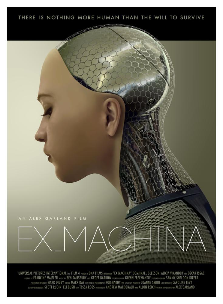 Ex Machina Movie Poster, Movie Poster, Poster Satış, all posters, kanvas tablo, canvas print sales