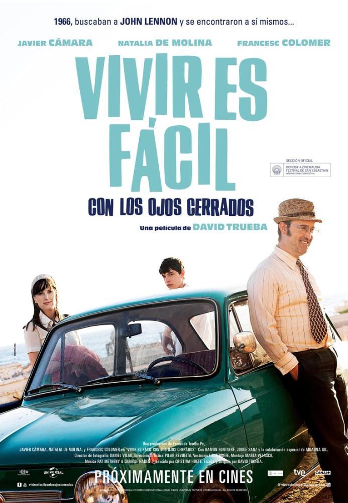 Vivir es fácil con los ojos cerrados Movie Poster, Movie Poster, Poster Satış, all posters, kanvas tablo, canvas print sales