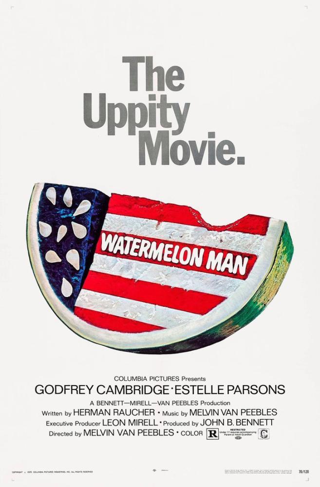 Watermelon Man Movie Poster, Movie Poster, Poster Satış, all posters, kanvas tablo, canvas print sales