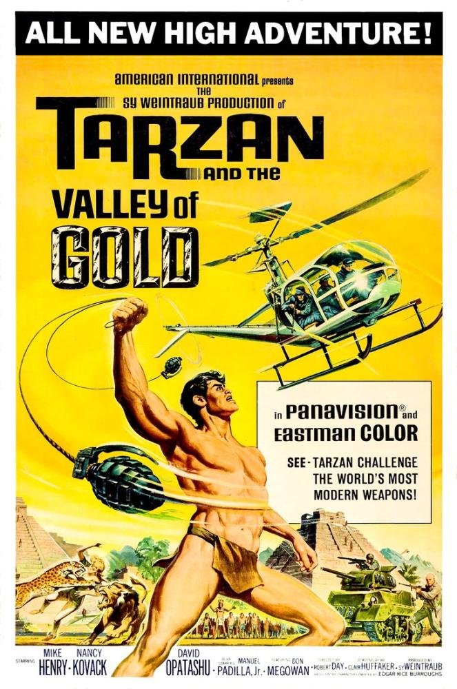 Tarzan and the Valley of Gold Movie Poster, Movie Poster, Poster Satış, all posters, kanvas tablo, canvas print sales
