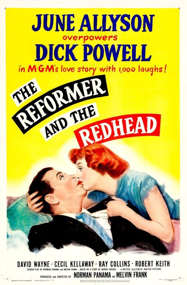 The Reformer and the Redhead Movie Poster, Movie Poster, Poster Satış, all posters, kanvas tablo, canvas print sales