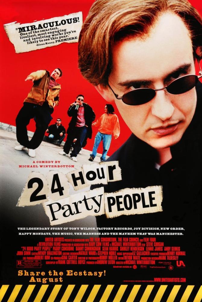 24 Hour Party People Movie Poster, Movie Poster, Poster Satış, all posters, kanvas tablo, canvas print sales