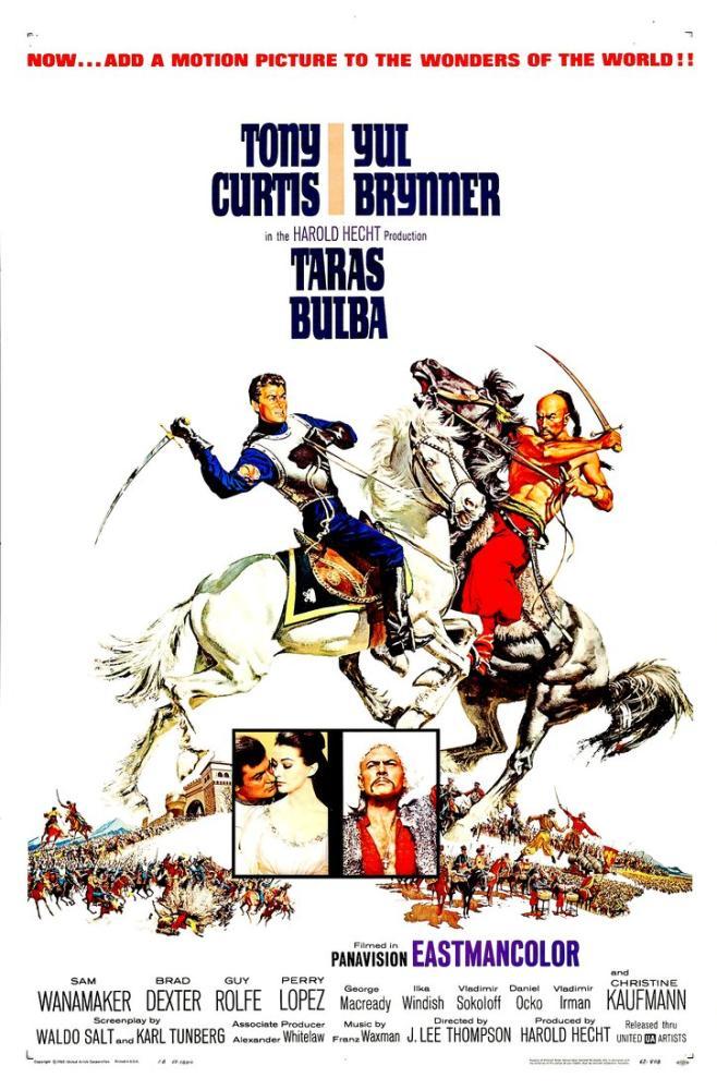 Taras Bulba Movie Poster, Movie Poster, Poster Satış, all posters, kanvas tablo, canvas print sales