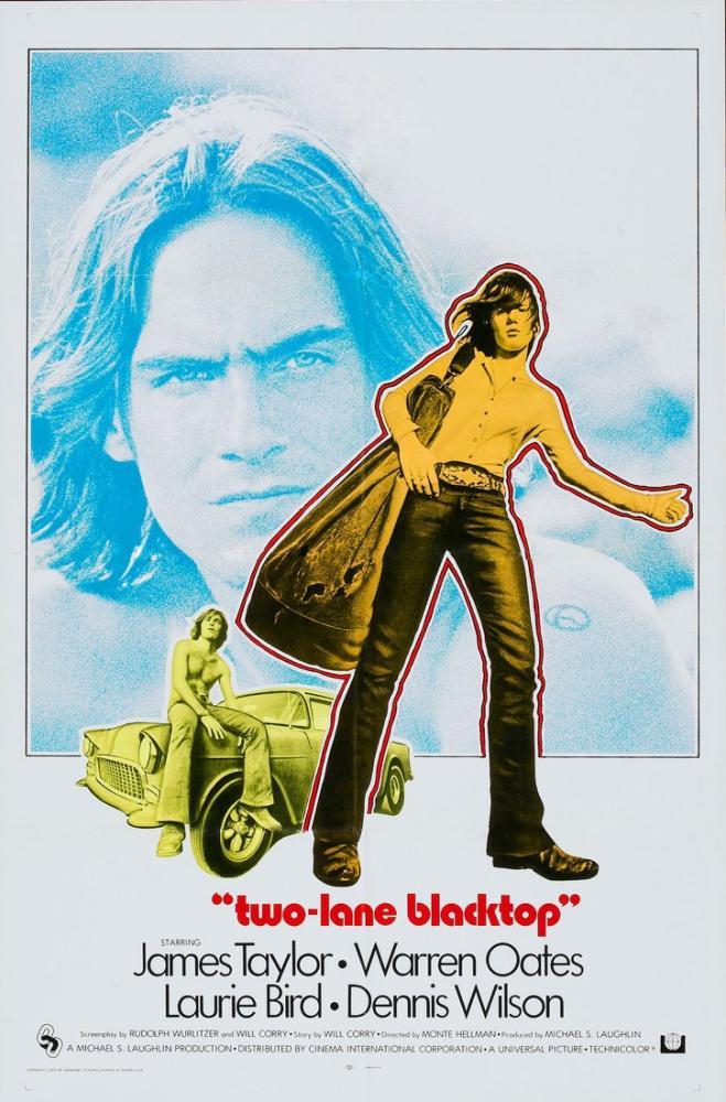 Two-Lane Blacktop Movie Poster, Movie Poster, Poster Satış, all posters, kanvas tablo, canvas print sales