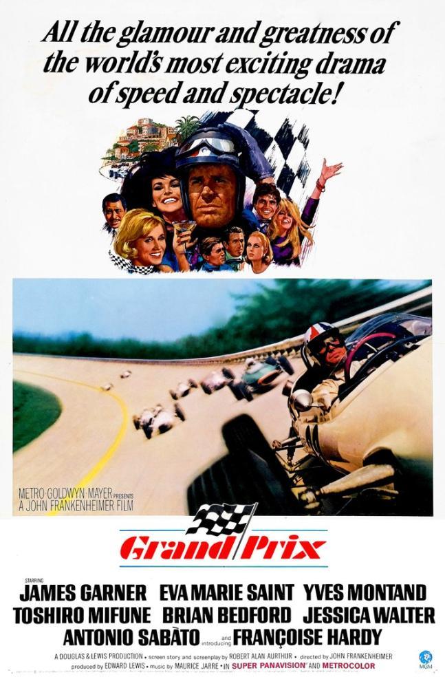 Grand Prix Movie Poster, Movie Poster, Poster Satış, all posters, kanvas tablo, canvas print sales