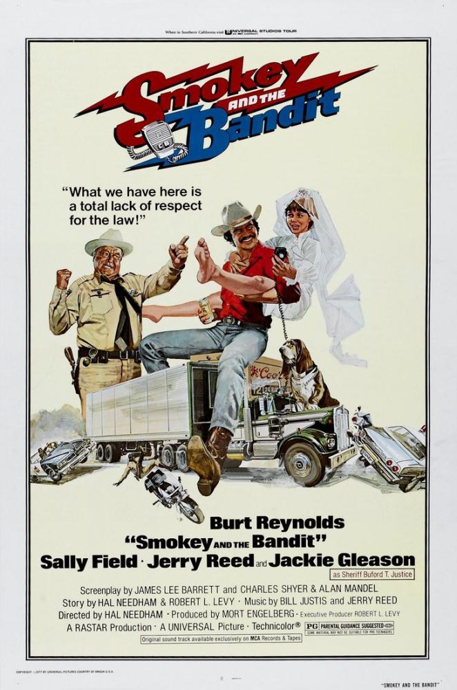 Smokey and the Bandit Movie Poster, Movie Poster, Poster Satış, all posters, kanvas tablo, canvas print sales