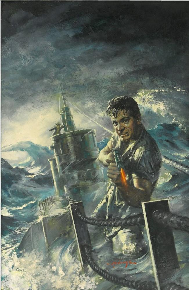 Run Silent, Run Deep Movie Poster, Movie Poster, Poster Satış, all posters, kanvas tablo, canvas print sales