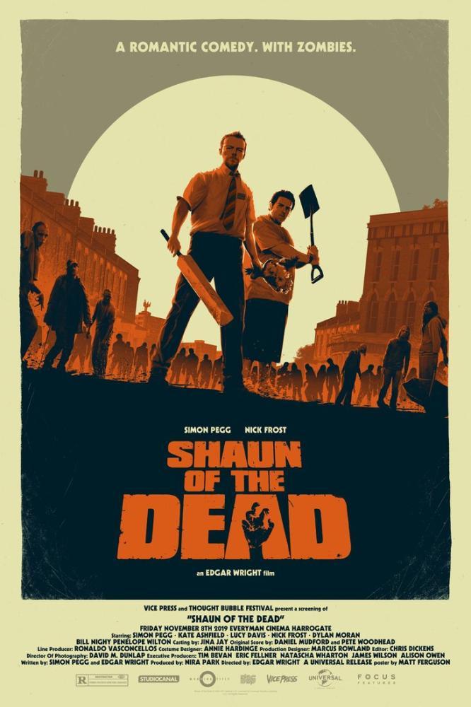 Shaun of the Dead Movie Poster, Movie Poster, Poster Satış, all posters, kanvas tablo, canvas print sales
