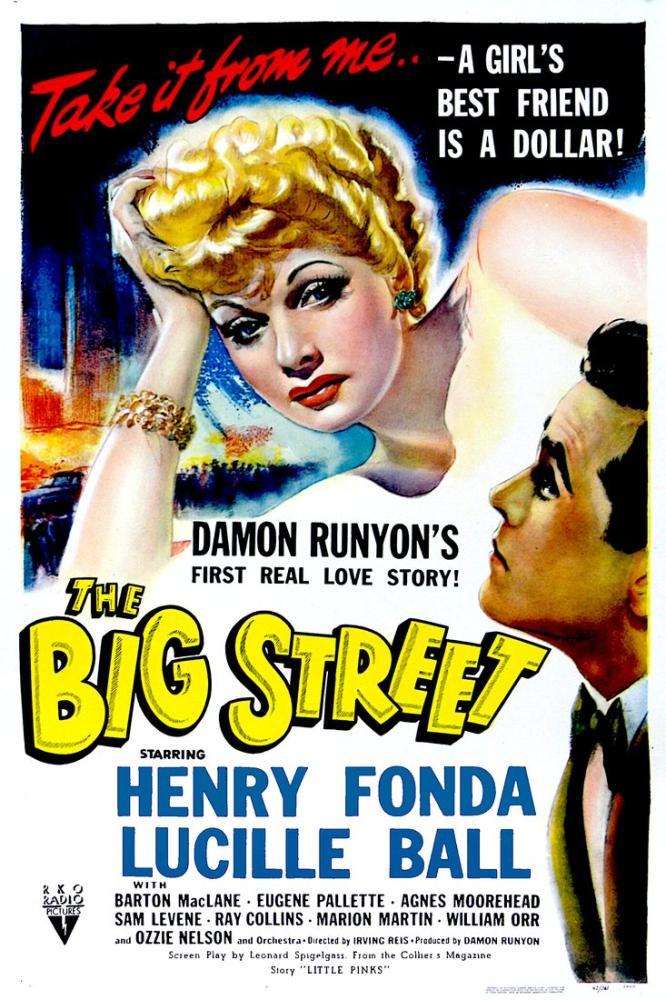 The Big Street Film Posteri, Film Posteri, Poster Satış, all posters, kanvas tablo, canvas print sales
