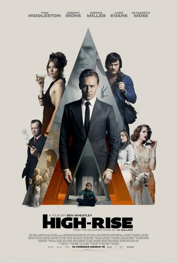 High-Rise Movie Poster, Movie Poster, Poster Satış, all posters, kanvas tablo, canvas print sales
