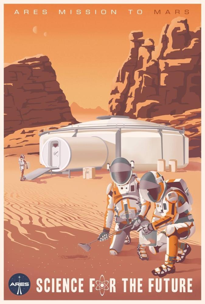 The Martian Movie Poster, Movie Poster, Poster Satış, all posters, kanvas tablo, canvas print sales
