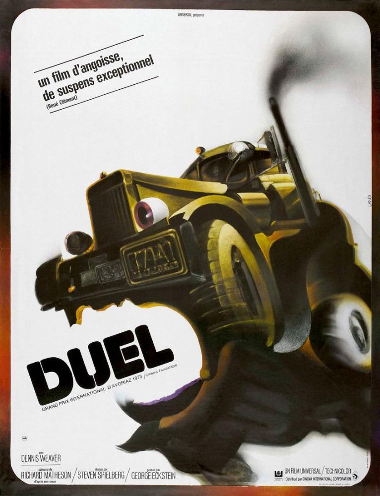 Duel Movie Poster, Movie Poster, Poster Satış, all posters, kanvas tablo, canvas print sales