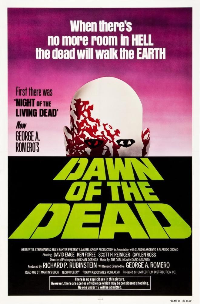 Dawn of the Dead Movie Poster, Movie Poster, Poster Satış, all posters, kanvas tablo, canvas print sales