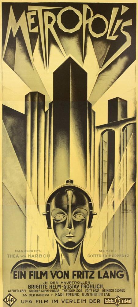 Metropolis Film Posteri, Film Posteri, Poster Satış, all posters, kanvas tablo, canvas print sales