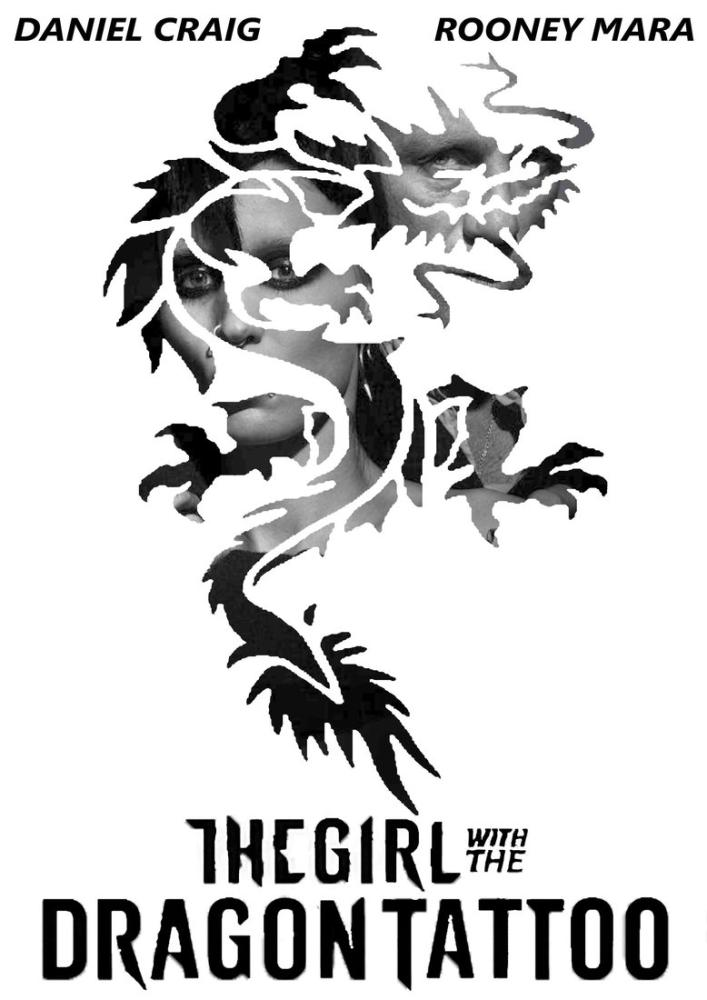The Girl with the Dragon Tattoo Movie Poster, Movie Poster, Poster Satış, all posters, kanvas tablo, canvas print sales