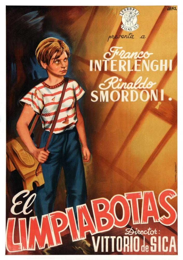 Shoeshine Movie Poster, Movie Poster, Poster Satış, all posters, kanvas tablo, canvas print sales