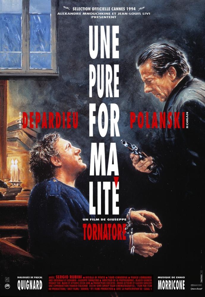A Pure Formality Movie Poster, Movie Poster, Poster Satış, all posters, kanvas tablo, canvas print sales