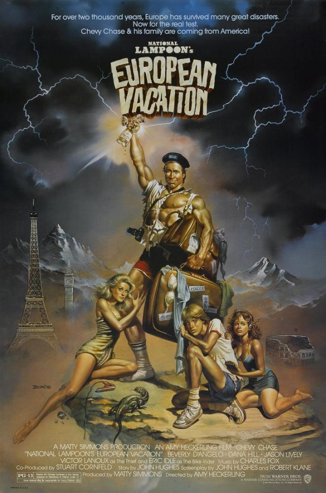 National Lampoon s European Vacation Movie Poster, Movie Poster, Poster Satış, all posters, kanvas tablo, canvas print sales