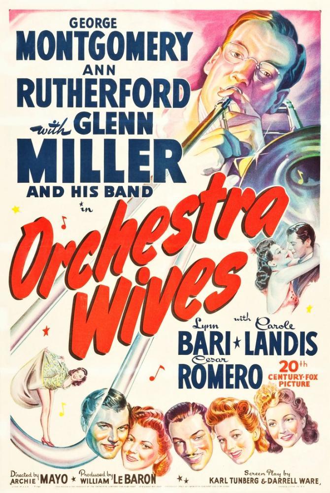 Orchestra Wives Movie Poster, Movie Poster, Poster Satış, all posters, kanvas tablo, canvas print sales