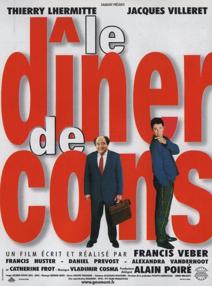 Le Dîner de Cons Movie Poster, Movie Poster, Poster Satış, all posters, kanvas tablo, canvas print sales