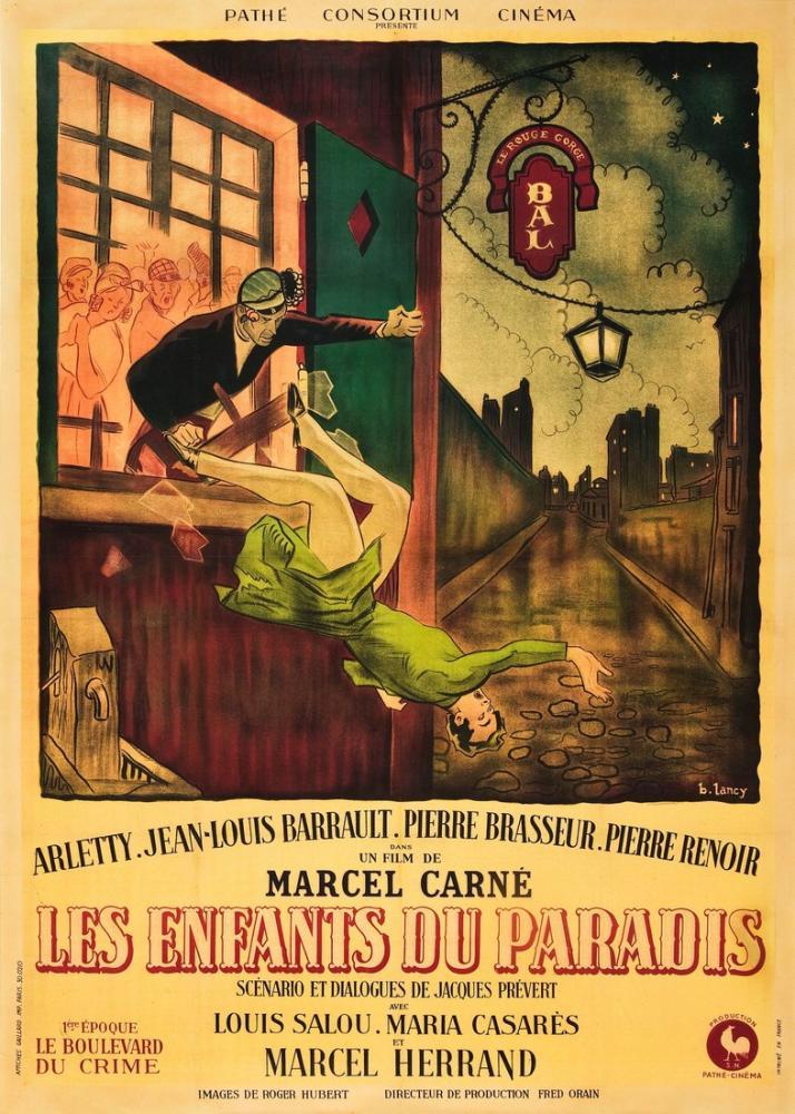 Les Enfants du paradis 4 Movie Poster, Movie Poster, Poster Satış, all posters, kanvas tablo, canvas print sales
