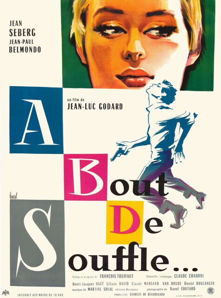 À bout de souffle Movie Poster, Movie Poster, Poster Satış, all posters, kanvas tablo, canvas print sales