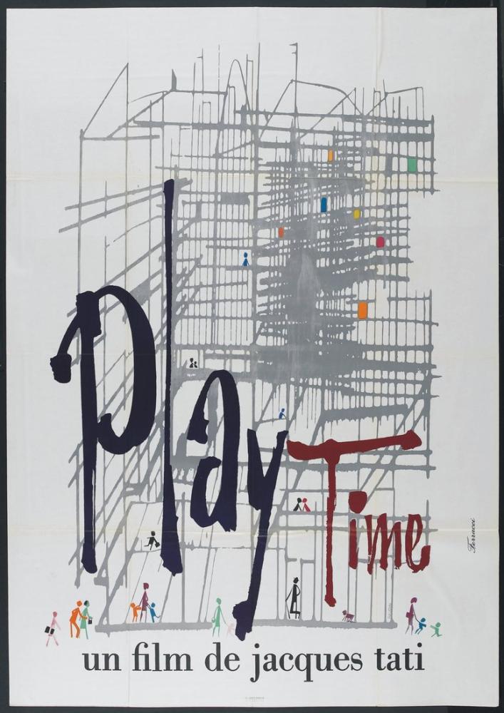 Playtime Movie Poster, Movie Poster, Poster Satış, all posters, kanvas tablo, canvas print sales