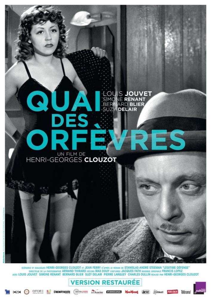 Quai des Orfèvres Film Posteri, Film Posteri, Poster Satış, all posters, kanvas tablo, canvas print sales