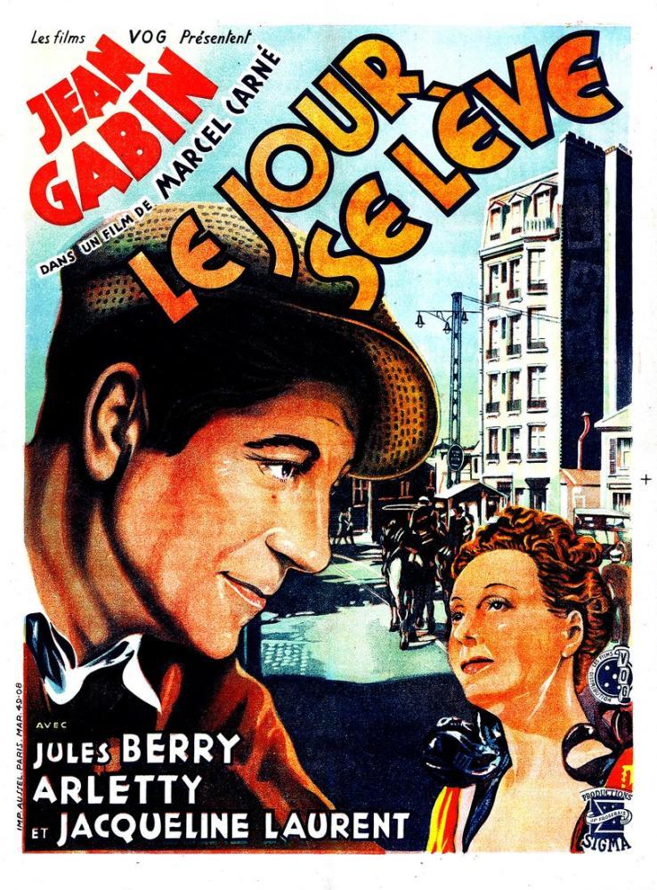 Le jour se lève Movie Poster, Movie Poster, Poster Satış, all posters, kanvas tablo, canvas print sales