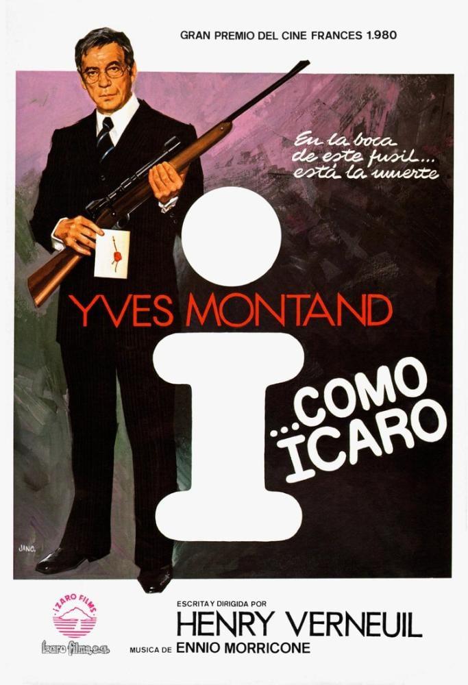 I... comme Icare Movie Poster, Movie Poster, Poster Satış, all posters, kanvas tablo, canvas print sales