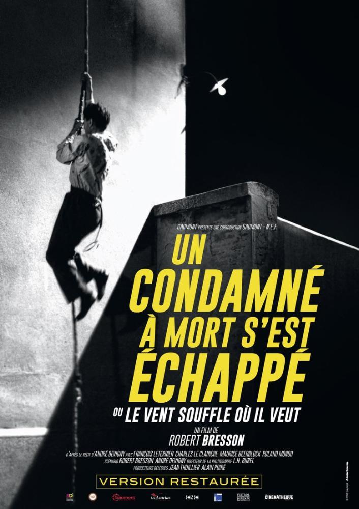 Un condamné à mort s est échappé Movie Poster, Movie Poster, Poster Satış, all posters, kanvas tablo, canvas print sales
