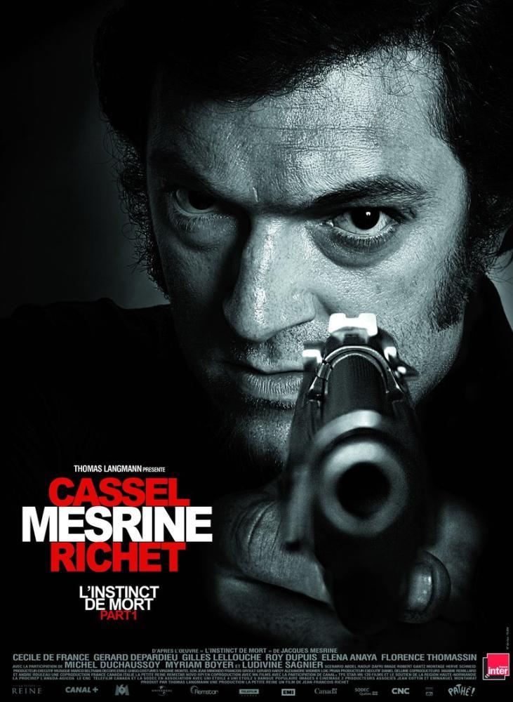 l instinct de mort Movie Poster, Movie Poster, Poster Satış, all posters, kanvas tablo, canvas print sales