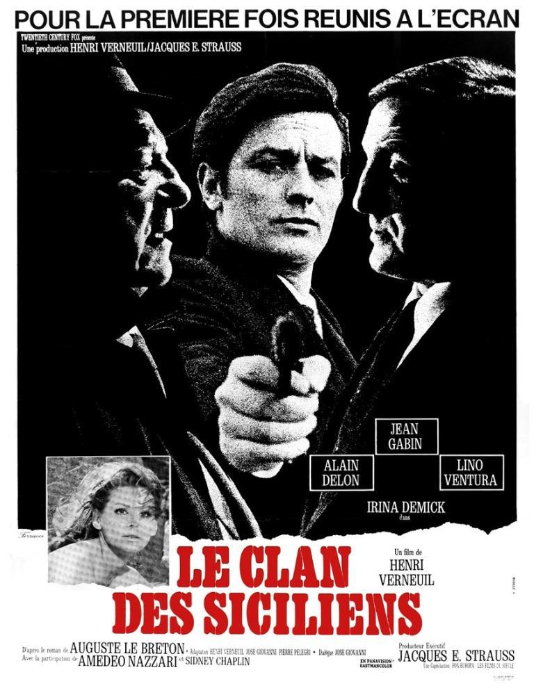 Le Clan des Siciliens Movie Poster, Movie Poster, Poster Satış, all posters, kanvas tablo, canvas print sales