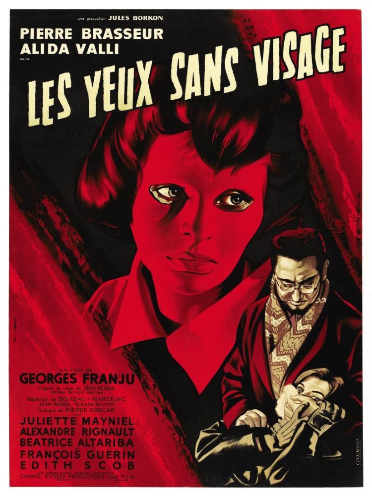Les Yeux sans visage Movie Poster, Movie Poster, Poster Satış, all posters, kanvas tablo, canvas print sales