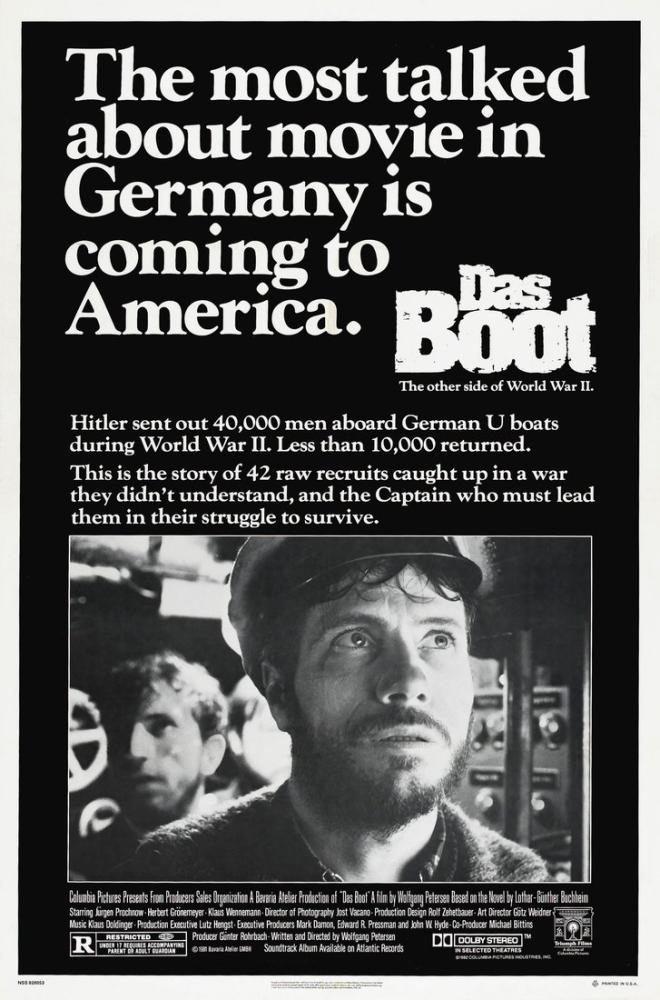 Das Boot Movie Poster, Movie Poster, Poster Satış, all posters, kanvas tablo, canvas print sales
