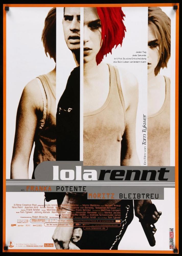 Koş Lola Koş Film Posteri, Film Posteri, Poster Satış, all posters, kanvas tablo, canvas print sales