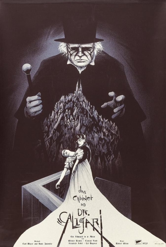 Dr. Caligari nin Muayenehanesi 2 Film Posteri, Film Posteri, Poster Satış, all posters, kanvas tablo, canvas print sales