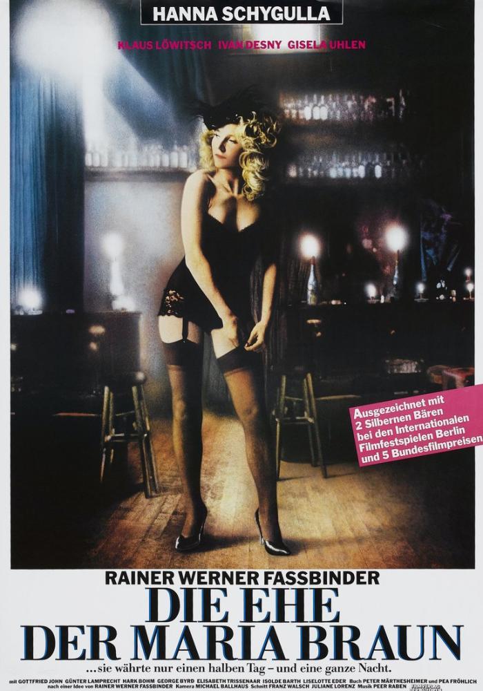Die Ehe der Maria Braun Movie Poster, Movie Poster, Poster Satış, all posters, kanvas tablo, canvas print sales