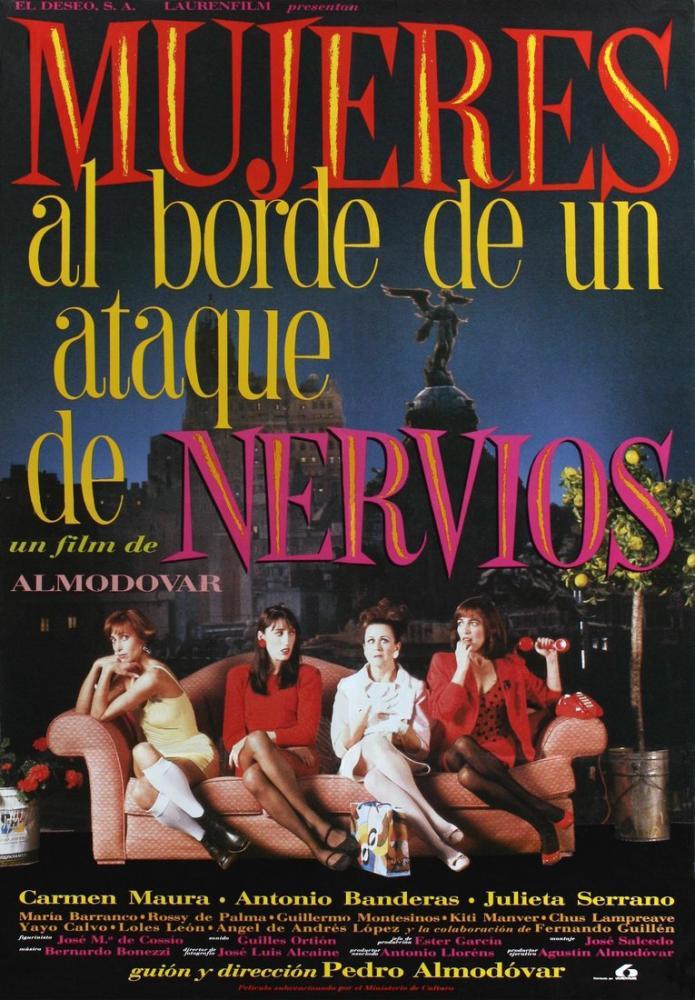 Sinir Krizinin Eşiğindeki Kadınlar 2 Film Posteri, Film Posteri, Poster Satış, all posters, kanvas tablo, canvas print sales
